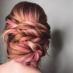 Updo and Haircolor by Mercedes Villasana