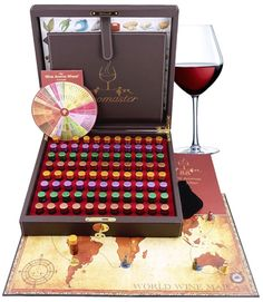 The set is a wine tasting educational tool and a friendly game, genuinely designed by sommeliers as a library of wine scents. The Master Wine Aroma Kit created by Aromaster is the world's most complete wine aroma collection, which combines 88 most common aromas found in sparkling, white, red and sweet wines produced around the world. By using this wine aroma collection, you will gradually develop your wine tasting skills allowing you to identify grape varieties, winemaking techniques, the…
