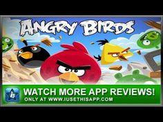 Angry Birds iPhone App - Best iPhone App - App Reviews #iphone #apps #appreviews #IUTA