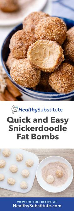 Quick and Easy Snickerdoodle Fat Bombs Healthy Substitute - Keto Diet Cream Cheese Fat Bombs, Cream Cheese Recipes, Cream Cheeses, Low Carb Desserts, Low Carb Recipes, Healthy Recipes, Diabetic Desserts, Party Desserts, Healthy Desserts