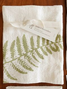 Soft and absorbent 100% cotton flour sack towels available from Sabbath-Day Woods. Flour Sack Towels, Sabbath, Kitchen Towels, Ferns, Thoughtful Gifts, Wood Art, Screen Printing, Woods, Prints