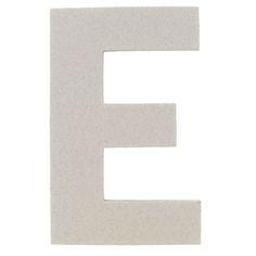 "the Paper Studio 8"" Chipboard Letter - E   Shop Hobby Lobby"