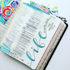 Bible Journaling by @elli.s_heart