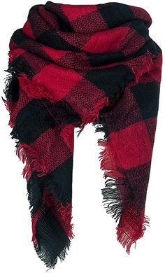 Qupish Plaid Blanket Winter Scarfs for Women Soft Warm Cozy Scarf Classic Chunky Oversized Wrap Shawl Scarves Gifts Only Fashion, Fashion Beauty, Cozy Scarf, Plaid Blanket, Fall Scarves, Fashion Images, Sophisticated Style, Shawls And Wraps, Classy Outfits
