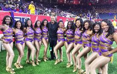 """""""Hanging with the @asu_golden_girls... @theswac #FootballChampionship"""""""