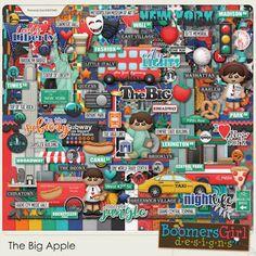"BoomersGirl Designs: ""The Big Apple"" Digital Kit - New York!"