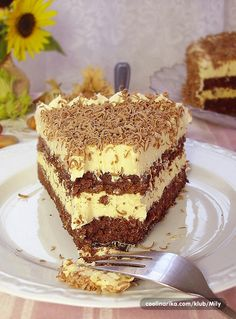 Torta s lješnjacima i karamelom ~ Recepti za svaki dan(za Ciru) Torte Recepti, Kolaci I Torte, Baking Recipes, Cookie Recipes, Nutella Fudge, Torte Cake, Croatian Recipes, Lava Cakes, Desert Recipes