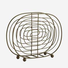 Suport servetele oval din fier - Antique Brass Moving Furniture, Cabinet Makers, Messing, Antique Brass, Natural Wood, Modern, Napkins, Iron, Pottery