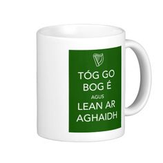 Keep Calm and Carry On IRISH Mugs