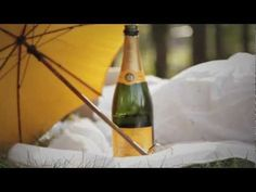 Veuve Clicquot & Penelope Parasols. (More focus on the Parasol though. Really pretty color and great shots)