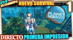 NUEVO SURVIVAL en PLANET NOMADS #1 PRIMERA IMPRESION Gameplay Español 21:9