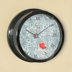 Yellow Rose - Round (Medium) Wall Clock  1191af66c8