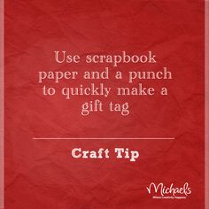 Quick Gift Tag Tip