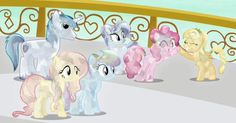 I love crystal ponies !