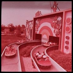 Hanna-Barbera Land at King's Island Amusement Park, 1970's. #BananaSplits #CattanoogaCats