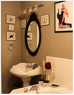 Master Bathroom Mirror