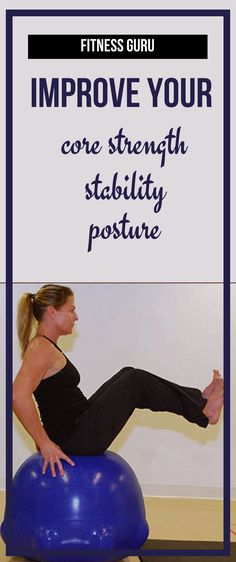 If you want to improve your core strength and enhance your abs, the stability ball will help you do just that......... fitness equipment for home   fitness equipment machines   outdoor fitness