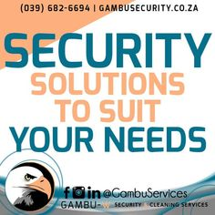 Did you know that we offer a wide range of security services to simplify your life?
