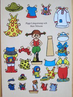 ba86b8d5978b Astrid Lindgren - Pippi Longstocking Paper Toys