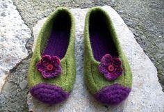Felted slipper pattern