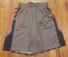 Womens Auburn Tigers Small Basketball Shorts Under Armour NCAA  #UnderArmour…