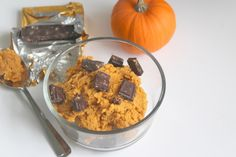 PUMPKIN PROTEIN COOKIE DOUGH RECIPE (+some sassy thoughts)