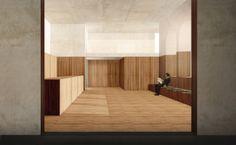 Atelier Lorbeer ° Gemeinde Kulturzentrum Mels ° Architektur Wettbwerb ° Visualisierung