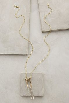 Skanderna Icicle Pendant Necklace by Roost $88.00