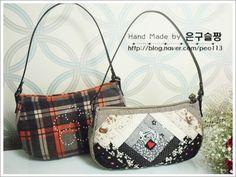0번째 이미지 Patchwork Bags, Quilted Bag, Clothing Patterns, Sewing Patterns, Pouch, Wallet, All About Fashion, Handmade Bags, Bargello