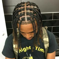 43 Cool Blonde Box Braids Hairstyles to Try - Hairstyles Trends Single Braids Men, Box Braids Men, Braids For Boys, Braids For Black Hair, Man Braids Black, Single Plaits, Boy Braids, Box Braids Hairstyles, Dreadlock Hairstyles For Men