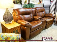 Leather Recliner Duo w/ Cupholder Sheboygan Falls, Living Room Furniture, Home Furniture, Interior Decorating, Interior Design, Leather Recliner, Mattress, Couch, Home Decor