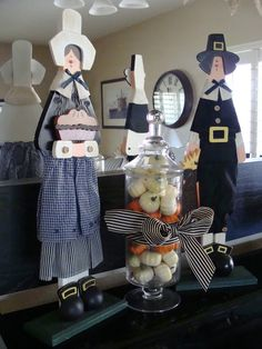 Thanksgiving decor ala moi. From Marci Coombs Blog