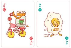 Brosmind Playing Cards for Bicycle Bicycle Cards, Bicycle Playing Cards, Character Illustration, Graphic Design Illustration, Illustration Art, Character Design Animation, Deck Of Cards, Card Deck, Environmental Art