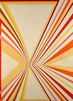 Frank Stella geometric art