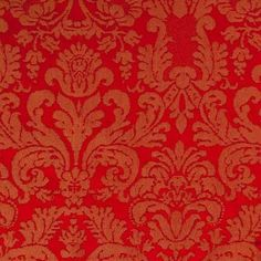 Tablecloth, Damask - Scarlett - www.lineneffects.com - Linen Effects Party, Event, Wedding, Corporate rental décor. #red #damask #holiday #linen #tablecloth #Christmas #dinner #cloth #gala #cultural