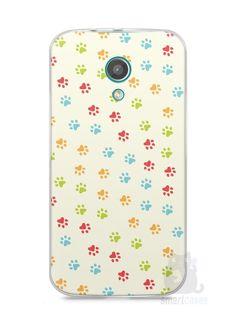 Capa Moto G2 Patinhas Coloridas #2 - SmartCases - Acessórios para celulares e tablets :)