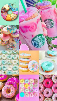 now u finally have something to drool over! Bebidas Do Starbucks, Starbucks Drinks, Food Wallpaper, Pink Wallpaper, Aesthetic Collage, Aesthetic Food, Summer Aesthetic, Starbucks Wallpaper, Kreative Desserts