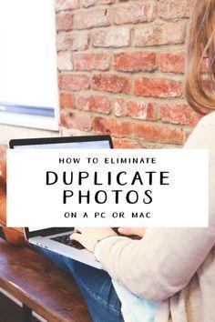eliminate duplicate photo copies