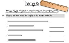 measuring length of the objects with paper clips math 4 omar pinterest worksheets math. Black Bedroom Furniture Sets. Home Design Ideas