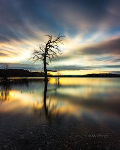 Loch Lomond with sunset, Trossachs