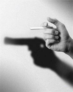 smoking kills health print ad
