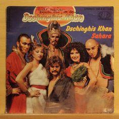 DSCHINGHIS KHAN Dschinghis Khan-Sahara Vinyl 7 Single Signed by Bernd Meinunger