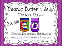 PBJ Partner pack for classroom partners! Procedural Writing, Teaching Writing, Teaching Kindergarten, Teaching Tools, Teaching Ideas, Preschool, Partner Talk, Partner Cards, Partner Reading