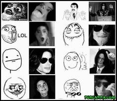 Memes expressados por Michael Jackson