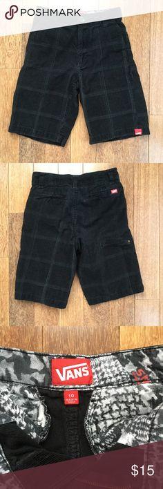 Vans Corduroy Shorts Size 10 100% Cotton Very Good Condition Vans Shorts