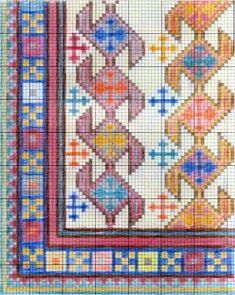 Weaving Patterns, Cross Stitch Patterns, Quilt Patterns, Cross Stitch Borders, Cross Stitching, Tapete Floral, Cross Stitch Freebies, Crochet Mouse, Folk Embroidery
