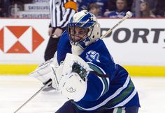 Roberto Luongo against the Oilers on 4/7/12