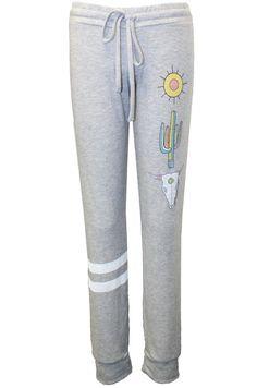 Kizzy Desert Vibes Leg Classic Sweatpant W/ Cuff