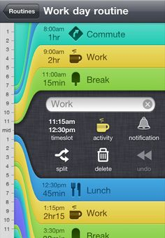 Gorgeous UI of Daily Routine app