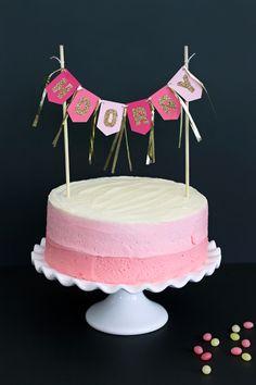 Silhouette America Blog | Hooray Cake Topper